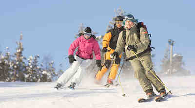 hill ski rent levi lapland ski snowboard bike fatbike skis clothes