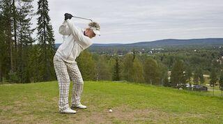 Golfia Rovaniemellä
