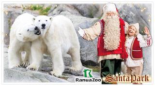 Family ticket to Santapark and Ranua Zoo