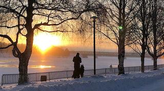 Bredvid Kemijoki-floden