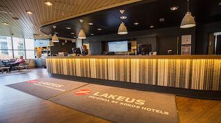 Original Sokos Hotel Lakeus Seinäjoki Finland Reception