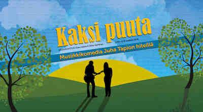 Musiikkikomedia, Kaksi Puuta, Juha Tapio, Hämeenlinna, Original Sokos Hotel Vaakuna, teatteripaketti, kesäteatteri