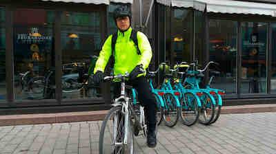 vastuullisuus, pyöräily, seurahuone, lahti