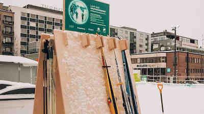 sukset, hiihto, ympäristöpääkaupunki, Lahti, vastuullisuus