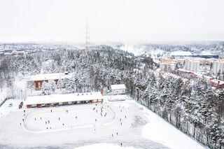 Talvi, luistelu, vastuullisuus, Lahti