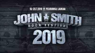 John Smith Rock Festivaali Laukaassa 18.- 20.7.2019