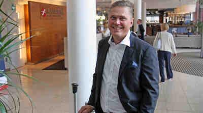 Hannu Nirkkonen johtaa Jyväskylän kahta Sokos Hotellia.