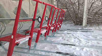 kick sledges available original sokos hotel kuusamo