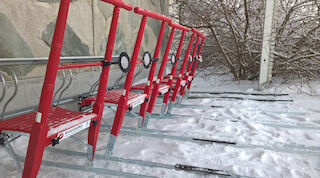 kick sledges available original sokos hotel kuusamo