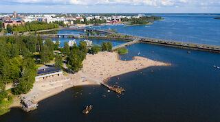 Uimarannat Vaasa Heitsku Hietasaari