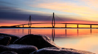 Replot bridge- the longest bridge in Finland