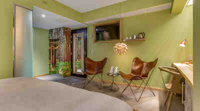 Junior Suite, Vaakuna Vaasa, metsä huone