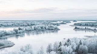 hotel vaasa winter sea