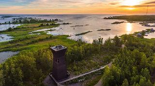 Merenkurkun saariston Unescon maailmanperintökohde