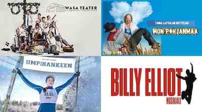 Billy Elliot, Umpihankeen, Mun Pohjanmaa, Ingvar!- En musikalisk möbelsaga, Vaakuna Vaasa