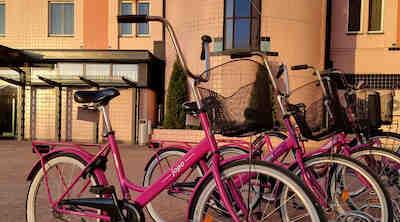 Pyöräillen Kouvolassa