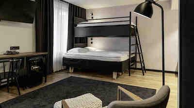 Original Sokos Hotel Vaakuna, Kouvola, perhehuone, Standard Queen Quattro