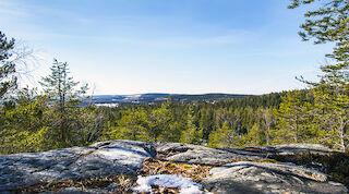 Vuokatti, spring, finnish nature, Kainuu
