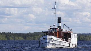 Steamship Kouta, Lake Oulujärvi, Kajaani