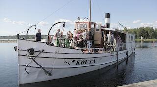 Höyrylaiva Kouta, Kajaani, Oulujärvi