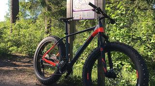 Fat bike, pyöräily, Vuokatti, tekemistä , tekemistä lapsille, tekemistä nuorille, kesä
