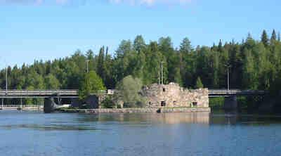 Kajaanin linnanrauniot, Rauniolinna, Kajaani