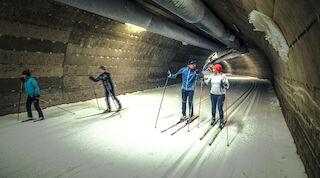 Осенний отпуск, прогулки на природе, золотая осень, осеннее путешествие, катание на лыжах, первая лыжня для беговых лыж, вуокатти, брейк сокос отель вуокатти