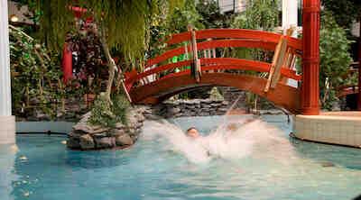 Syysloma Vuokatissa kylpylässä rentoutuen, Break Sokos Hotel Vuokatti