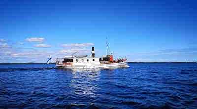 höyrylaiva Kouta, ristelilyt, Oulujärvi
