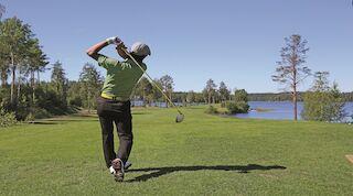 Golfia pääsee pelaamaan kolmella kentällä