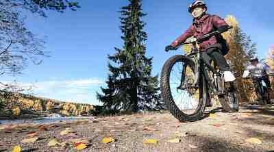 Pyöräile Tahkon monipuolisissa maisemissa