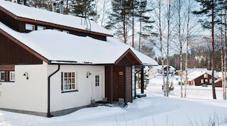 Cottage and apartment at holiday center Tahko