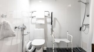 Equipments in bathroom