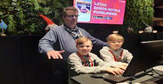 Vastaanoton Maukka, Niki ja Antti
