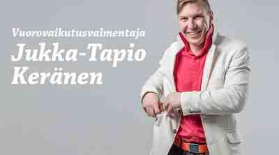 Vuorovaikutuskouluttaja Jukka-Tapio Keränen