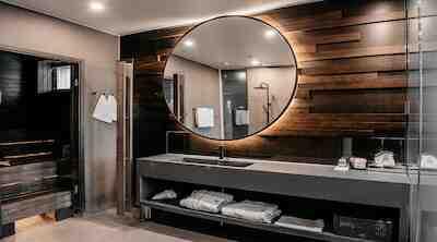 Original Sokos Hotel Puijonsarvi Suite kylpyhuone