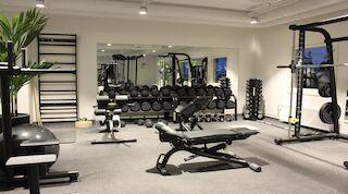 Renovated gym