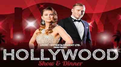 Hollywood Show & Dinner 2.ja 3.11. Puikkarissa