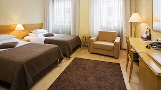 Standard Twin -номер Sokos Hotel Koljonvirta Иисалми Финляндии