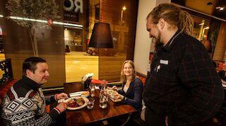 Ресторан Rosso Sokos Hotel Koljonvirta Иисалми Финляндии