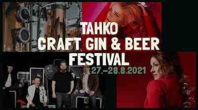 Uusi festivaali elokuussa Tahkolla: Tahko Craft Gin & Beer Festival