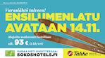 Anna palaa hiihtäen - Break Sokos Hotel Tahko