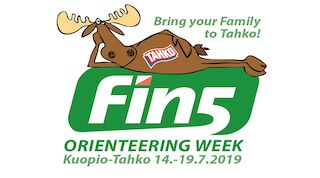 fin5-suunnistusviikko kesällä 2019 Tahkolla
