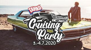 Cruisingtapahtuma Tahko Cruising party heinäkuussa Tahkolla