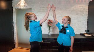 Break Sokos Hotel Tahkolla iloinen henkilökunta ja tyytyväiset asiakkaat
