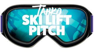 Tahko Ski lift pitch huhtikuussa Tahkonrinteillä