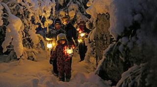 Tunnelmallinen talvi kutsuu seikkailemaan