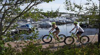 Pyörilyä Kuopiossa