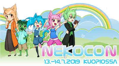 Nekocon 13.-14.7.2019 Kuopio