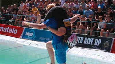 The Wife Carrying World Championships Original Sokos Hotel Koljonvirta Iisalmi